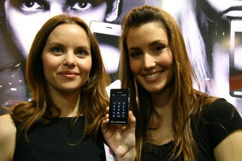 配置触摸显示屏的KE850 Prada手机华贵异常