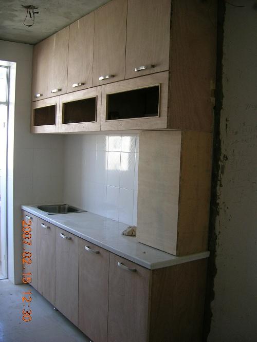 厨房和餐厅中间的铝合金隔断被我pass了