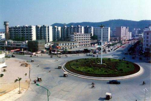 广西省梧州市藤县和平镇风景区