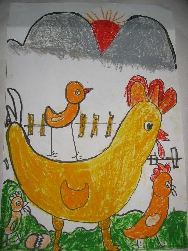 简易儿童水桶画画图片