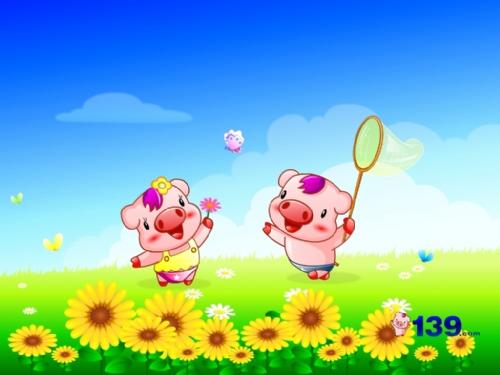 两只猪的故事
