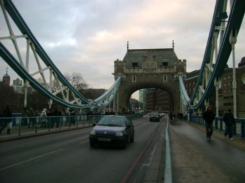 泰晤士河上的塔桥,伦敦的象征·英伦日记13