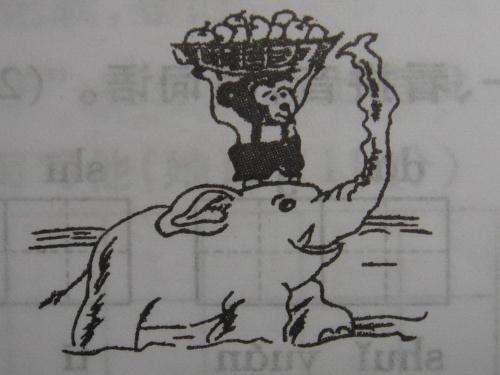 看图写话 小猴过河-轮滑小子-搜狐博客