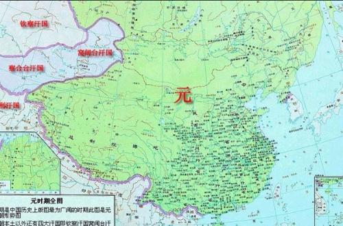 西亚深灰色部分为帖木儿帝国的范围
