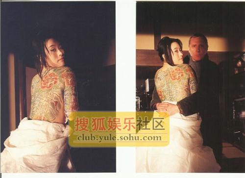 红火人体裸体艺术网_邬君梅为艺术全裸献身秀人体书法,名副其实枕边书