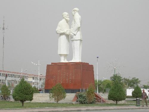 新疆-和田地区于田县,库尔班.